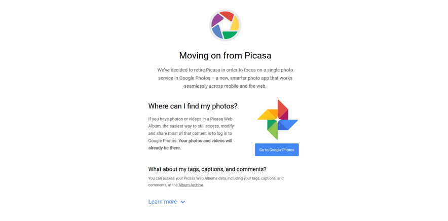 picasa free development tools for developers
