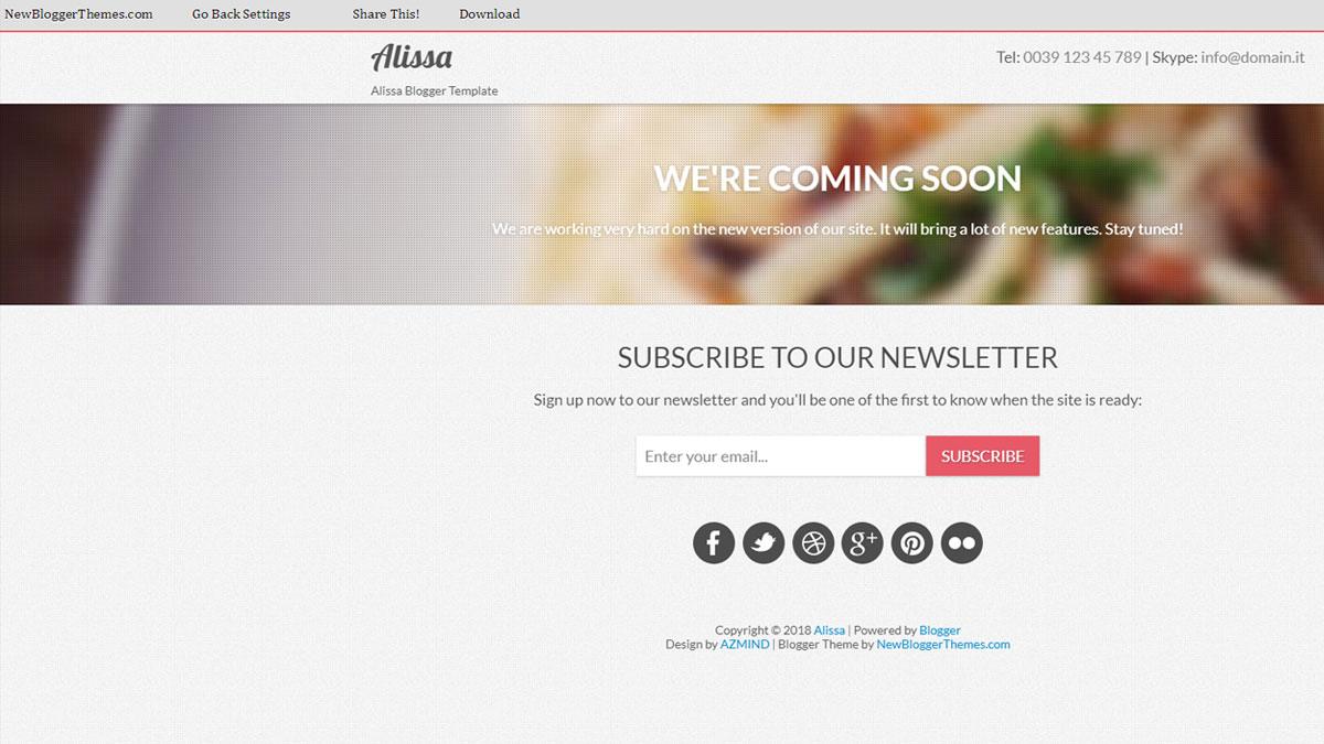 responsive blogger templates download