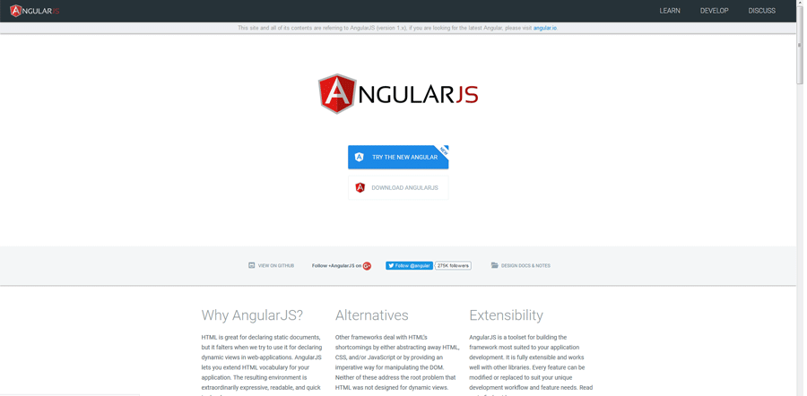 angular js best web development tools list for web developers