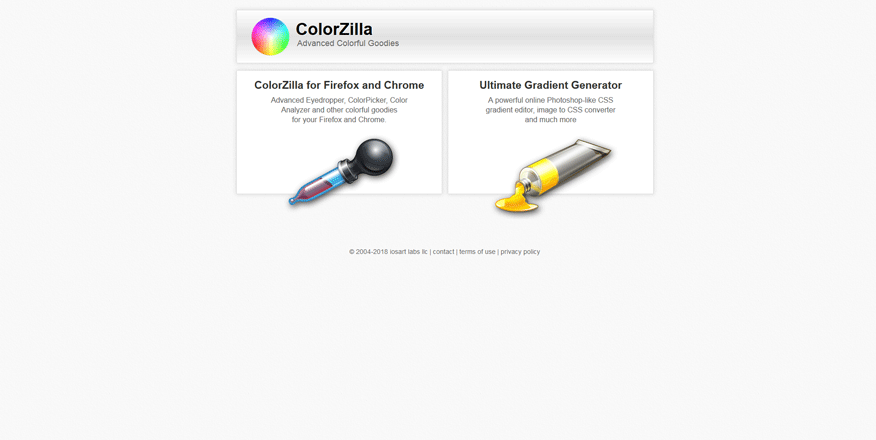 colorzilla best web development tools 2018