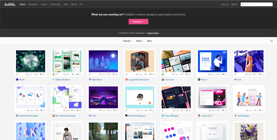 dribbble best web development tools list for web developers