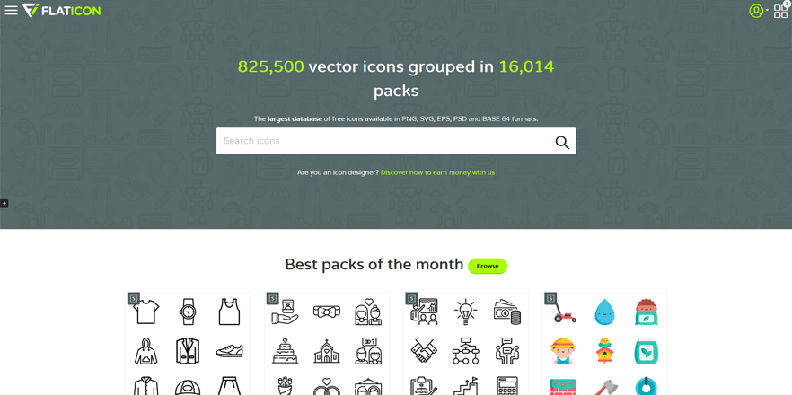 flaticon best web development tools for developers