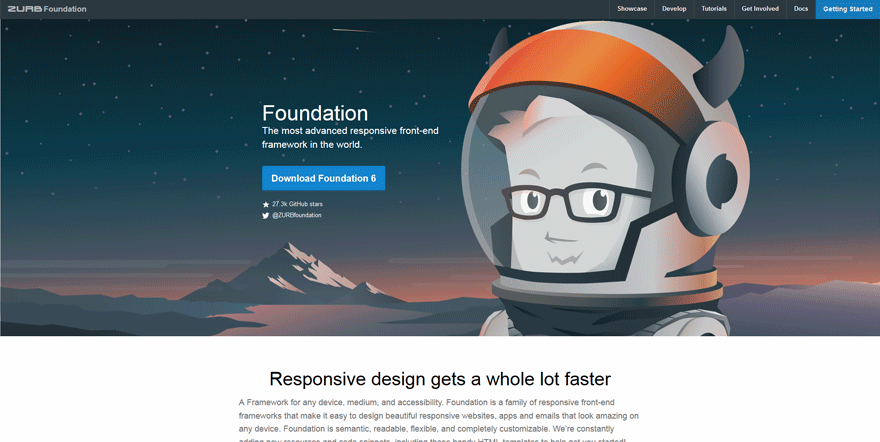 foundation best free website design tools