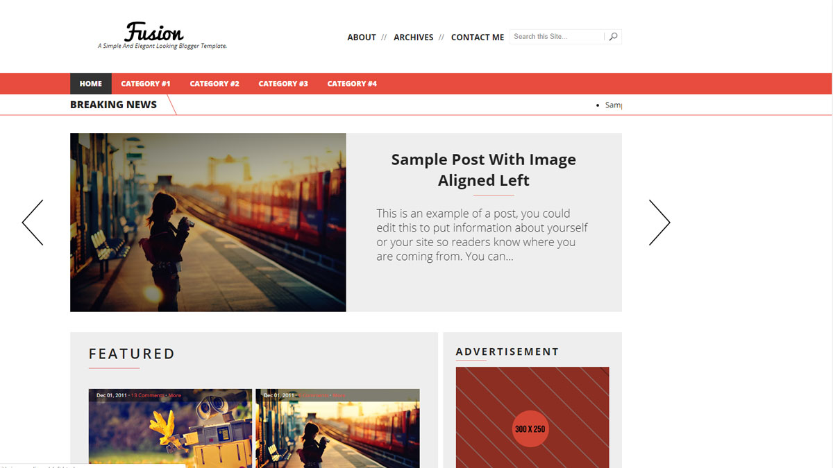 buy responsive blogger templates