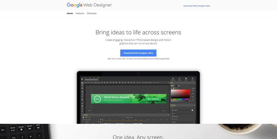 google web designer best web development tools for developers