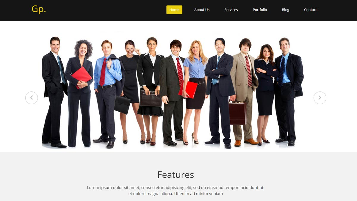 web templates html5
