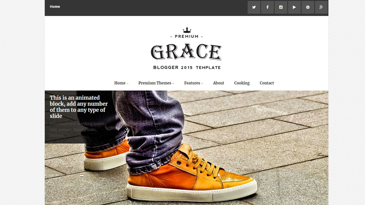 download responsive blogger templates