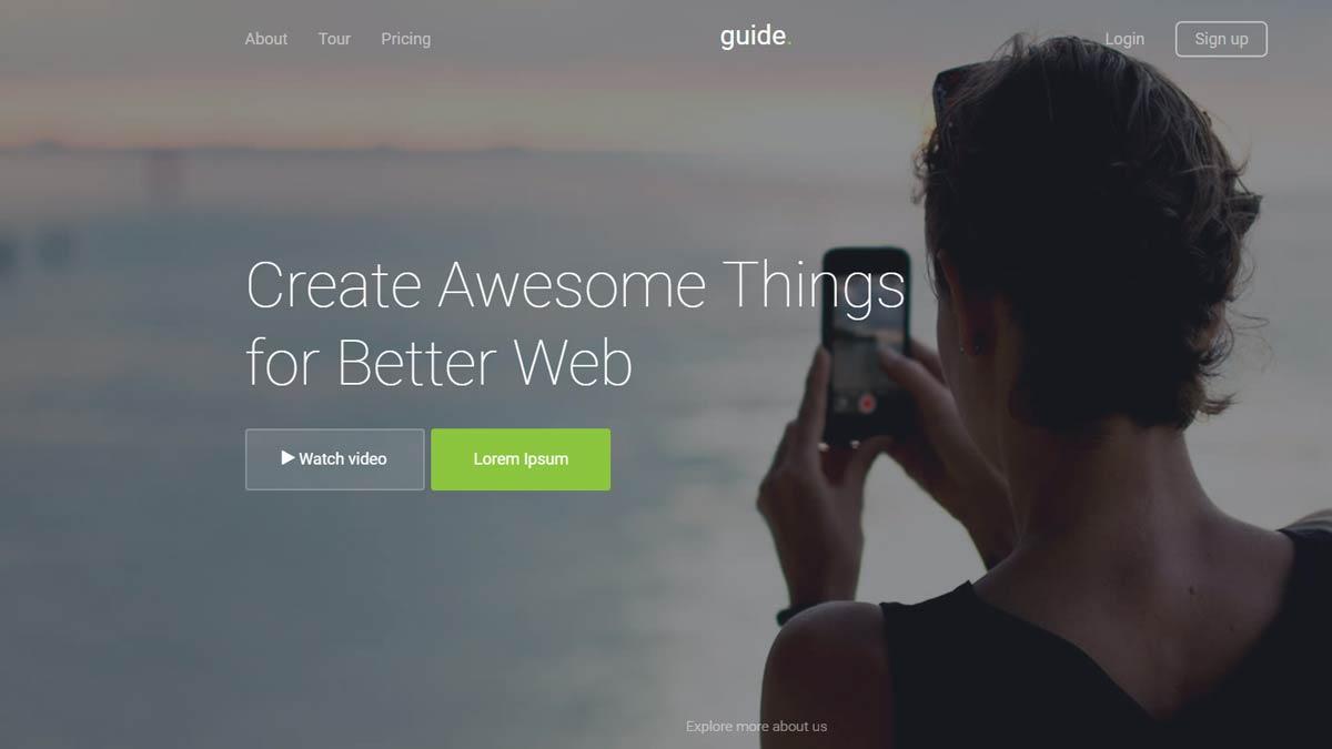 free responsive web templates