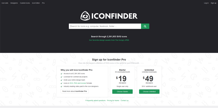 icon finder best web application development tools