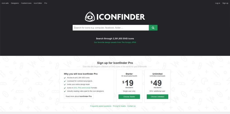 icon finder best web application development tools