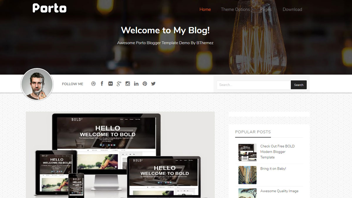 free blog templates for blogger