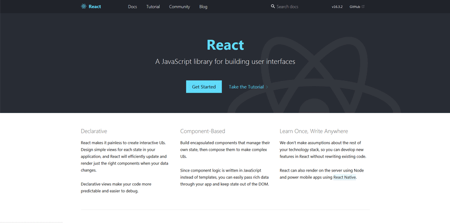 react free development tools for developers