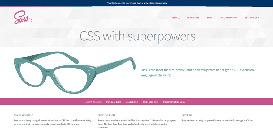 SASS free web development tools