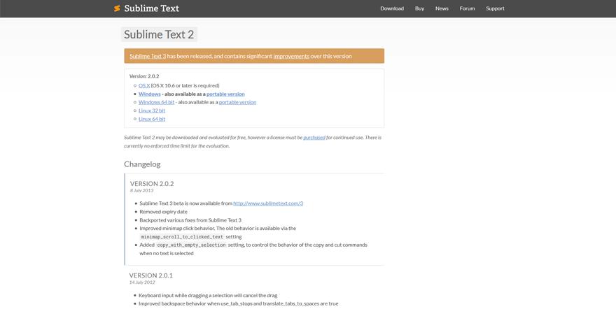 sublime text best web development tools list for web developers