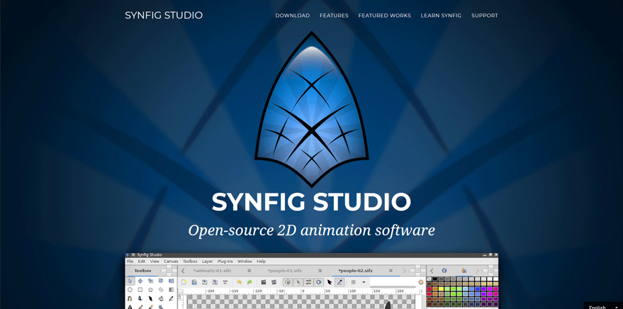 synfig best web application development tools