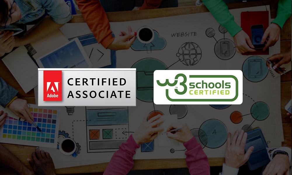 top 10 web designing certificates online