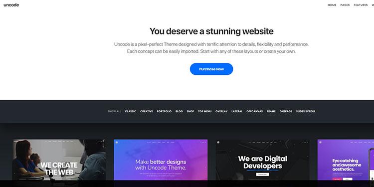best wordpress website