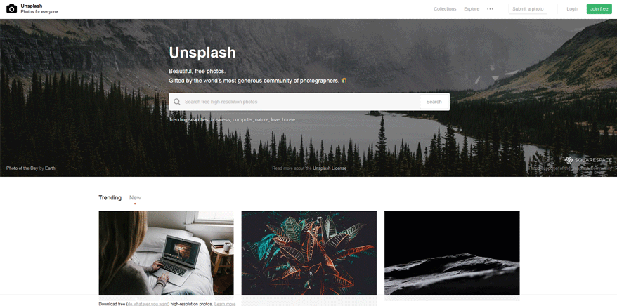 unsplash best web development tools list