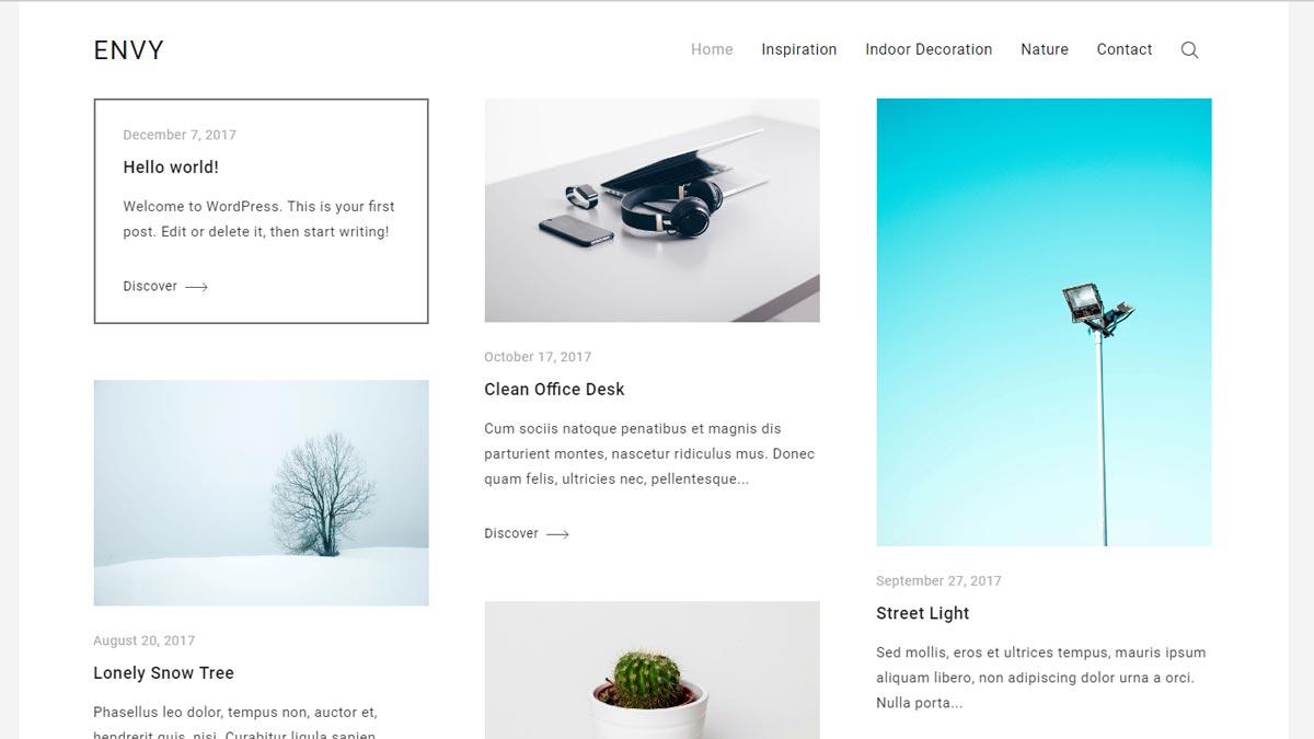 best free blog sites - envy blog